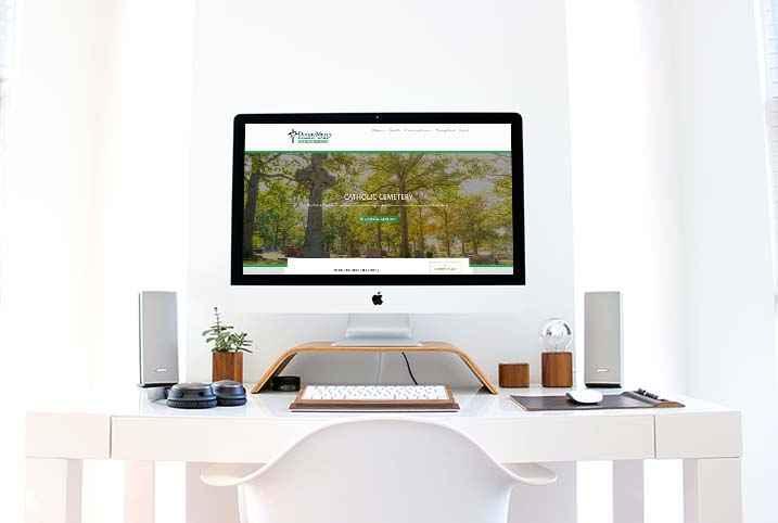 dustin-keeslar-portfolio-website-divine-mercy-and-catholic-cemetery-website