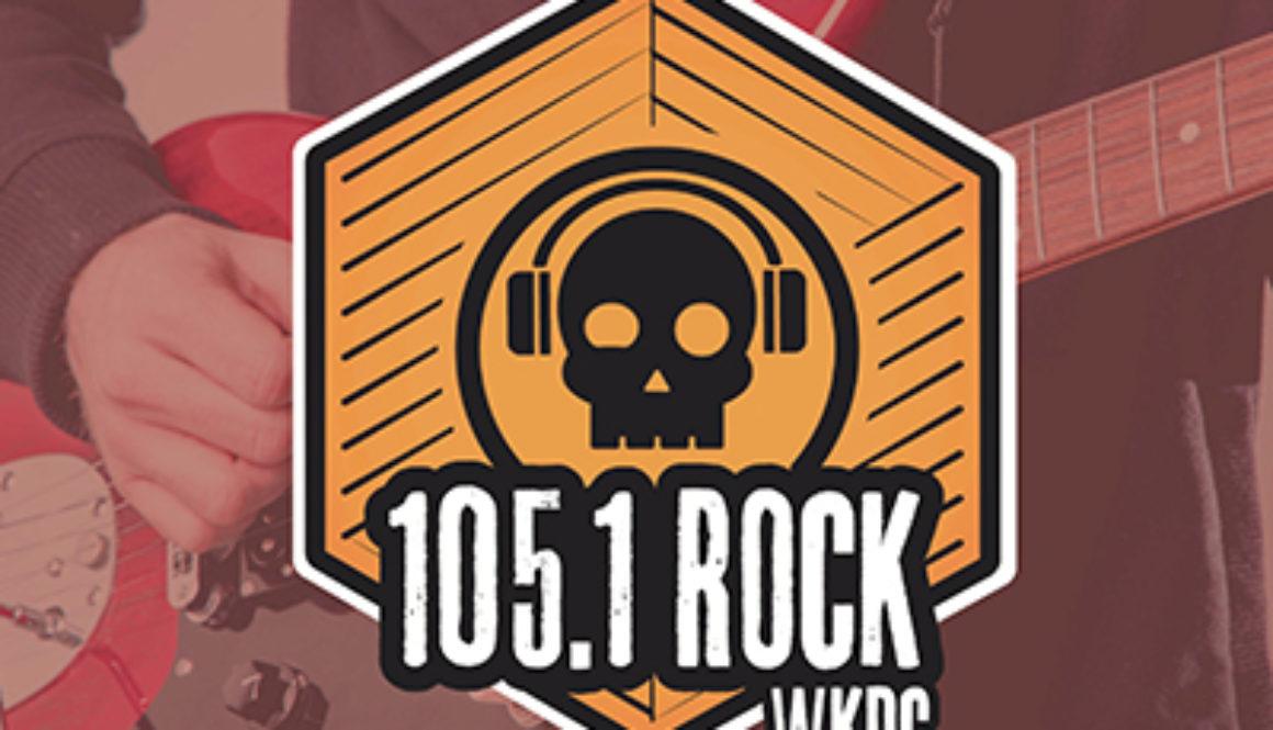dustin-keeslar-portfolio-105-1-rock-wkdc-radio-station-brand